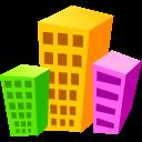 building, hotel, architecture icon