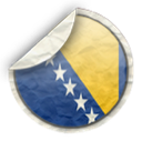 and, herzegovina, bosnia icon