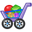 full, shopping, commerce, cart, buy, shopping cart icon