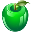 green apple icon