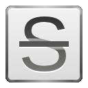 text, strikethrough, format icon