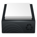 recycle, bin, full icon