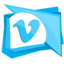 social, video, media, network, vimeo icon