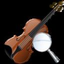 Violin, Zoom icon