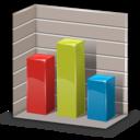 chart, statistics, column, graph icon