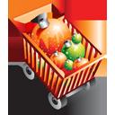 Full, Shoppingcart icon