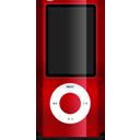nano, ipod, red icon