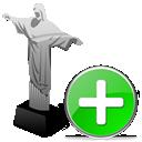 plus, cristoredentor, add icon