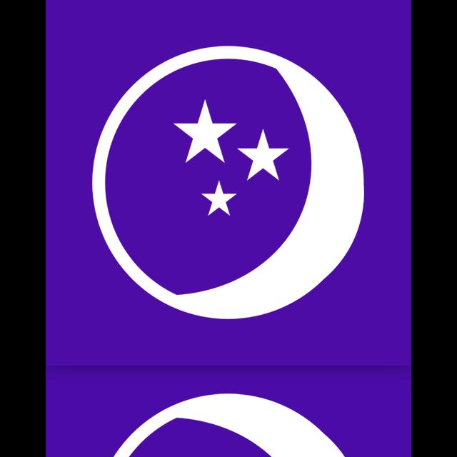 power, mirror, sleep icon