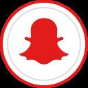 snapchat, logo, media, brand, social icon