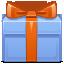 present, gift, christmas icon