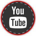 social, media, online, youtube icon