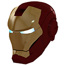 hypnosis, human, super, man, evil, gold, iron, mask, lightning, ironman, power, helmet icon