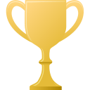 gold, cup icon