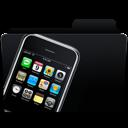 iphone, folder, mobile phone icon