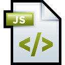 File Adobe Dreamweaver JavaScript icon