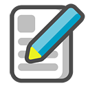write, writing, paper, file, document, edit icon