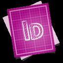 adobe blueprint indesign icon