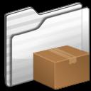 Download Folder white icon