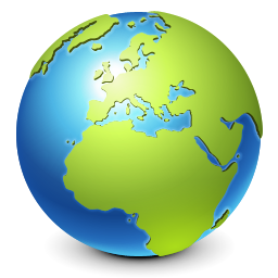 world, earth, globe, browser, internet, planet, real icon