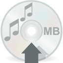 mount, cdaudio icon