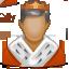King, Royal, User icon