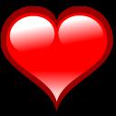 heart, love, valentine, bookmark icon