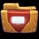 Comics Ironman Folder icon
