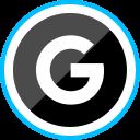media, corporate, social, google, logo icon