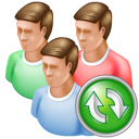 Group, Refresh icon