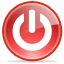shutdown,bye,poweroff icon