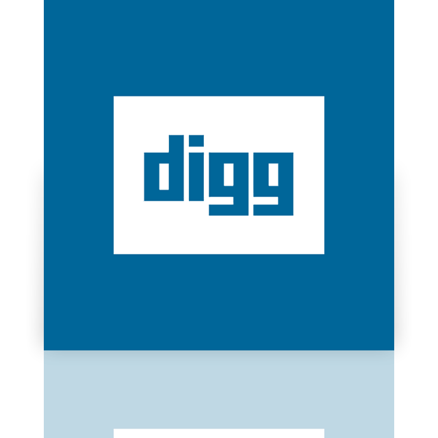 digg, mirror icon
