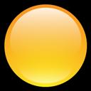 Blank, Button, Yellow icon