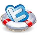 twitter lifesaver icon