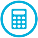mb, calculator icon