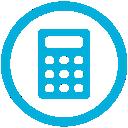 mb, calculator icon