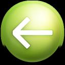 prev, back, previous, arrow, left, backward icon