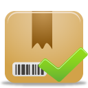 package, accept icon