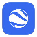 google, flurry, earth icon