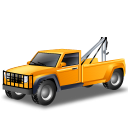 vehicle, transportation, car, towtruck, automobile, transport, yellow, towtruckyellow icon