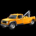 vehicle, transportation, car, towtruck, automobile, transport, yellow, towtruckyellow icon