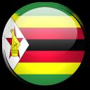 flag, zimbabwe, country icon