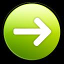 yes, next, ok, right, correct, forward, arrow icon