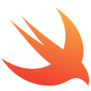 ios, logo, swift, apple, bird, code icon