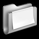 Documents, Folder, Metal icon