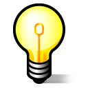jabber, lightbulb, idea icon