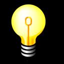jabber, lightbulb, idea icon