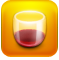 drunktionary, glass, wine icon