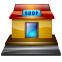 Roadside shop icon