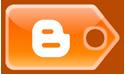 blogger, blog, tag icon